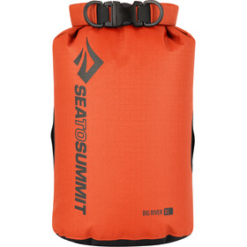 Sea to Summit Big River Sac de compression étanche 8L, orange/red